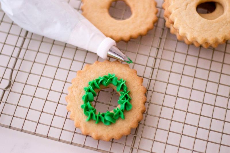 Christmas Wreath Cookies Recipe