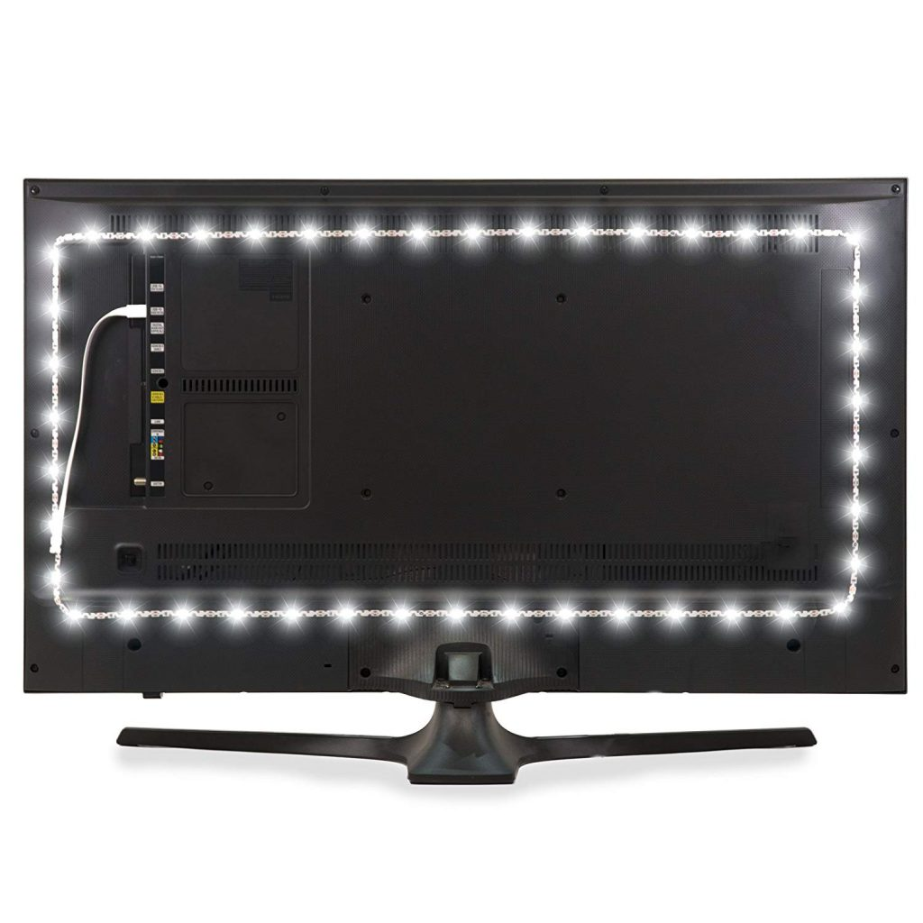 Bias lights, also known as TV Backlights, are LED strips that are designed to be placed on the back of the TV and really makes your space and TV pop. It's a great gift because almost everyone has a TV and almost no one has a TV back-light. Also everyone in the family can enjoy it. This product makes a last minute gift or stocking stuffer. It's perfect for anyone that spends long hours staring at a screen, because it can help reduce eyestrain by increasing the perceived contrast of your screen.