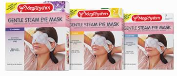 MegRhythm Gentle Steam Eye Mask ($10.99, Amazon.com)