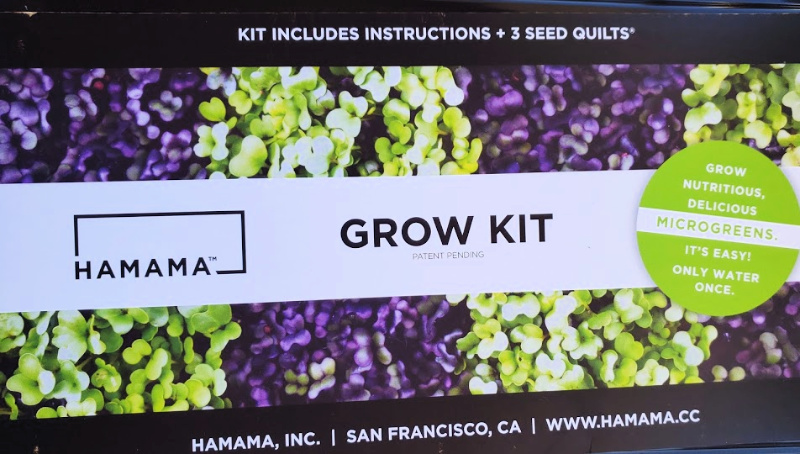 HAMAMA Microgreens Grow Kit