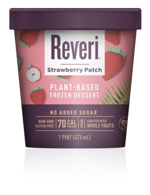 Reveri plant-based ice cream is crafted from fresh fruits and vegetables.