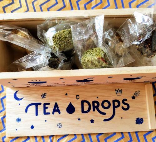 Tea Drops Pressed Spiced Tea Leaves $11.95
