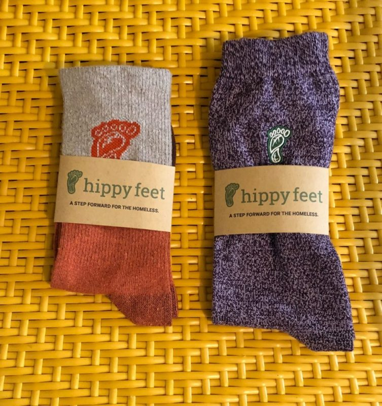 Help Support Homeless Youth with Hippy Feet Socks 1