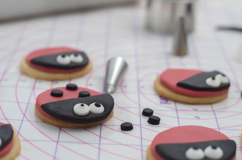 Lovebug Ladybug Cookies