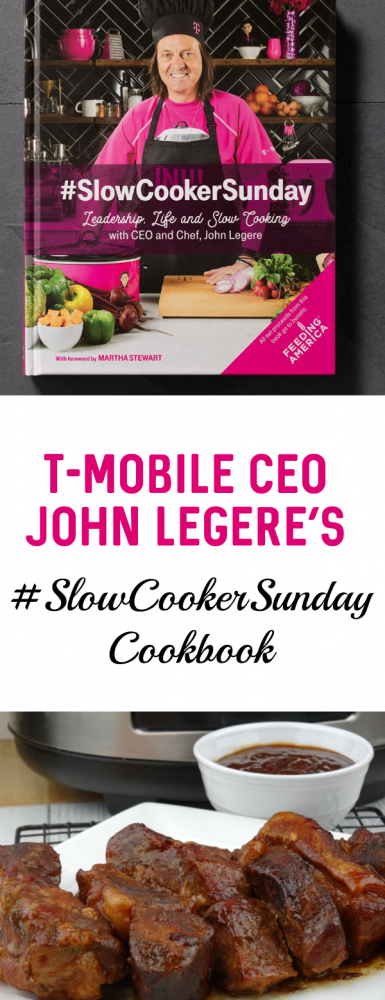 Sunday Dinner is important- #ad read my thoughts and the recipe I cooked from the #SCSCookbook by @TMobile\'s CEO John Legere.  Family, Fun, and Food is what every Sunday is about in my house, what about you?