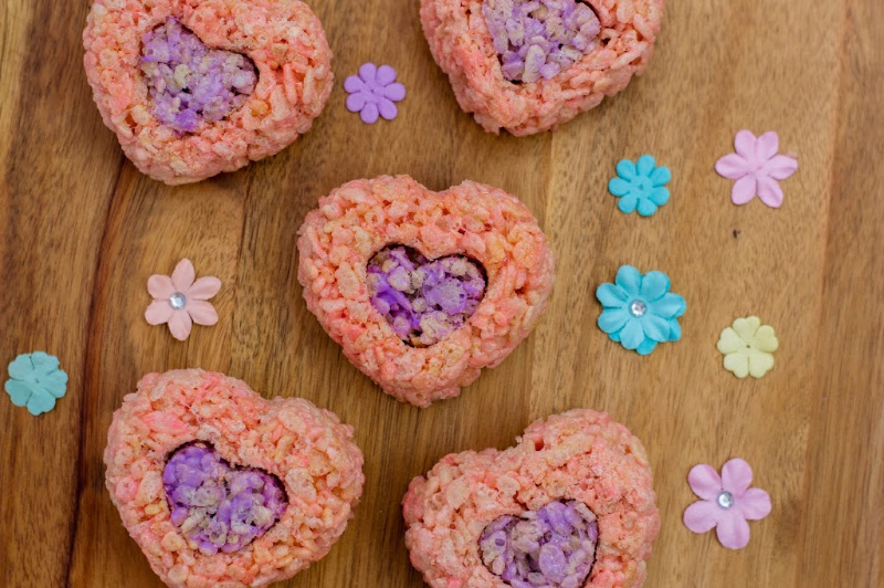 Valentine's Day Cereal Treats