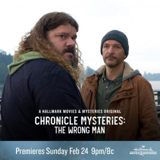"Hallmark Movies & Mysteries ""Chronicle Mysteries: Recovered"" Premiering this Sunday, Feb. 24th at 9pm/8c!"