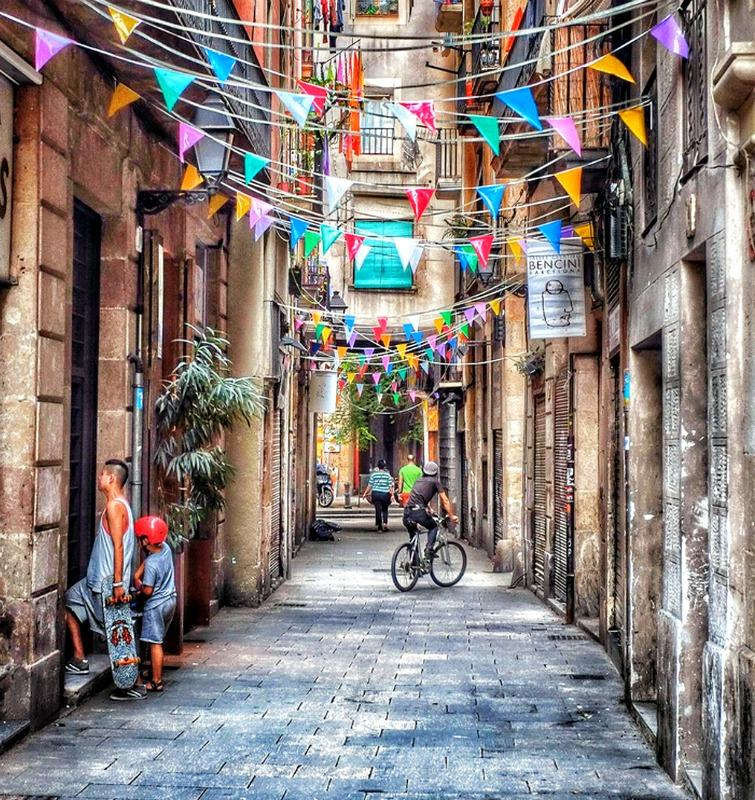 Exploring the Streets of Barcelona by Bike