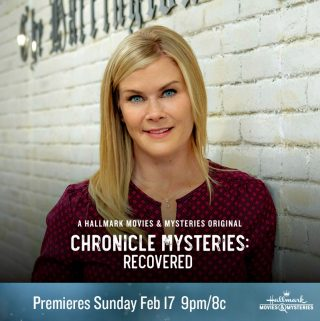 "Hallmark Movies & Mysteries ""Chronicle Mysteries: Recovered"" Premiering this Sunday, Feb. 17th at 9pm/8c!"