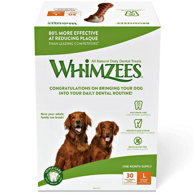Keep The Doggie Dentist Away With The Help Of WHIMZEES