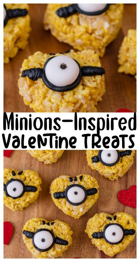 Minions-Inspired Valentine Treats
