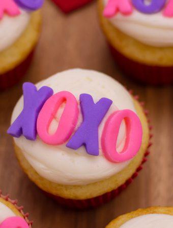 XOXO Cupcakes Recipe
