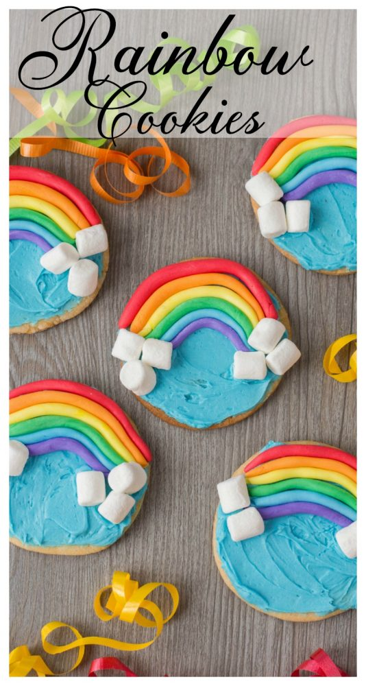 Do you believe that there's a pot of gold at the end of every rainbow?I'm not quite certain myself. But what I do know is that with every bite of these cookies, you'll get a burst of delicious sweetness.I am so thrilled to present to you my Rainbow Cookies. For me, the best part is the mini marshmallows: it offers a flavor and texture that not every cookie can boast.