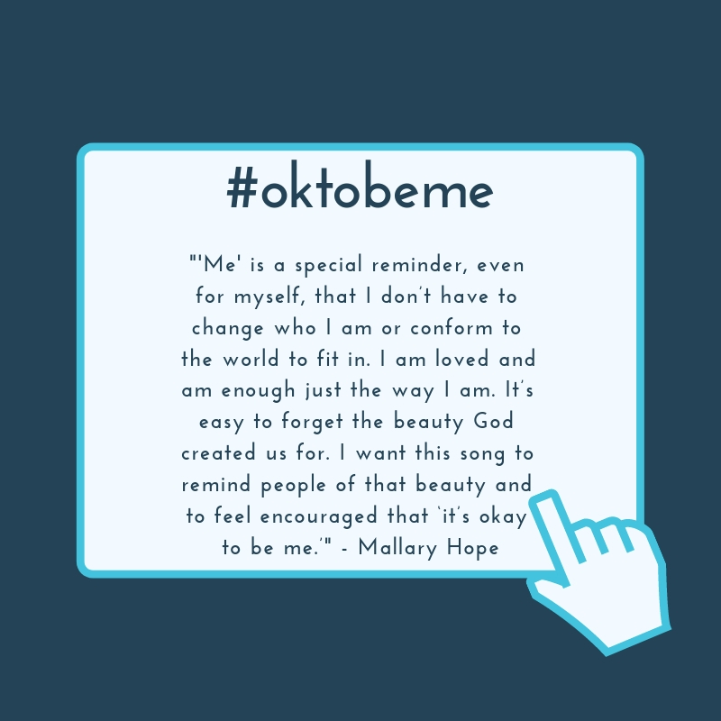 Mallary Hope Inspires Others with 'Me'