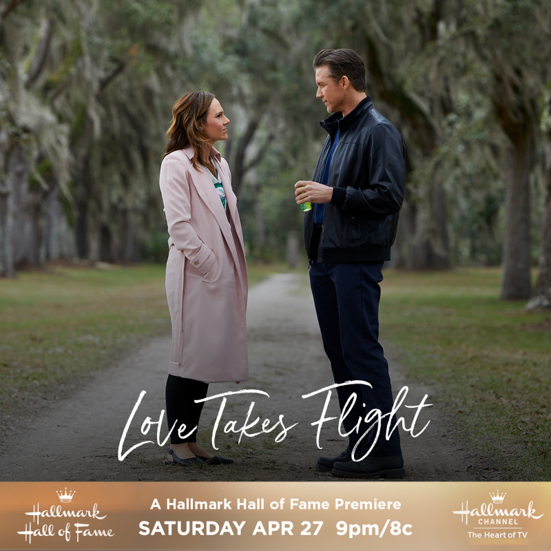 "A Hallmark Hall of Fame Presentation, ""Love Takes Flight"" Premiering this Saturday, April 27th at 9pm/8c!"