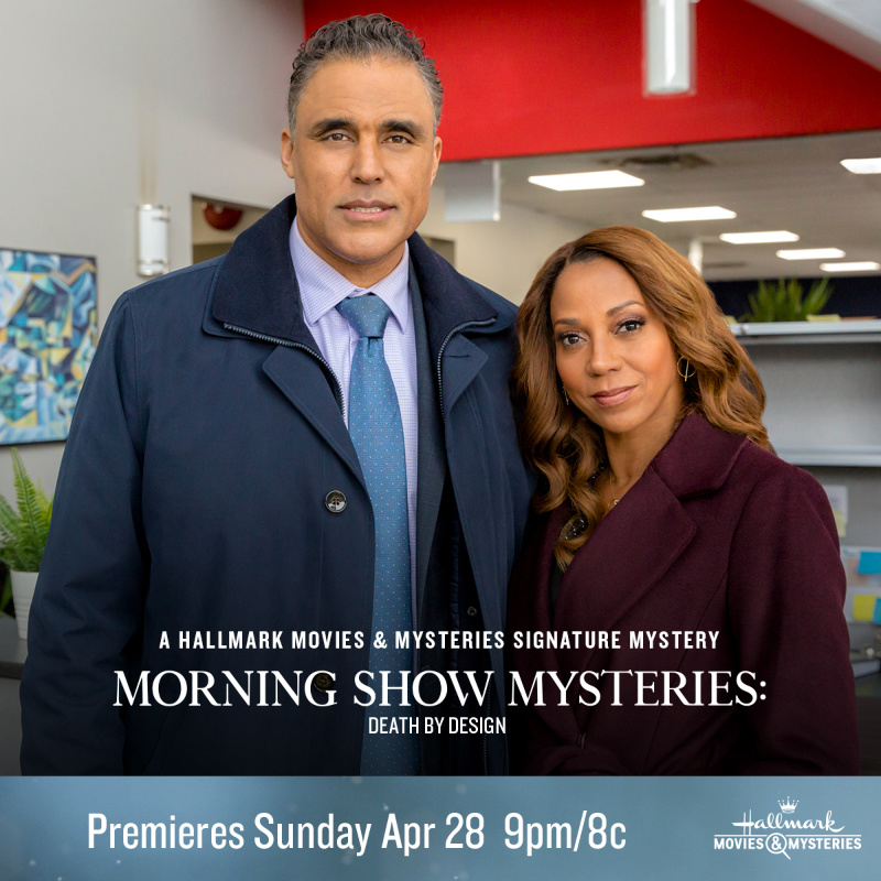 "Hallmark Movies & Mysteries ""Morning Show Mysteries: Death by Design"""