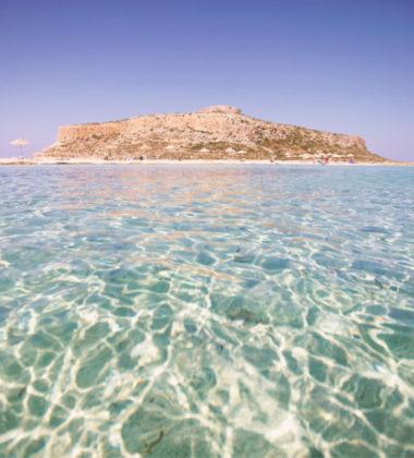 clear water in ocean