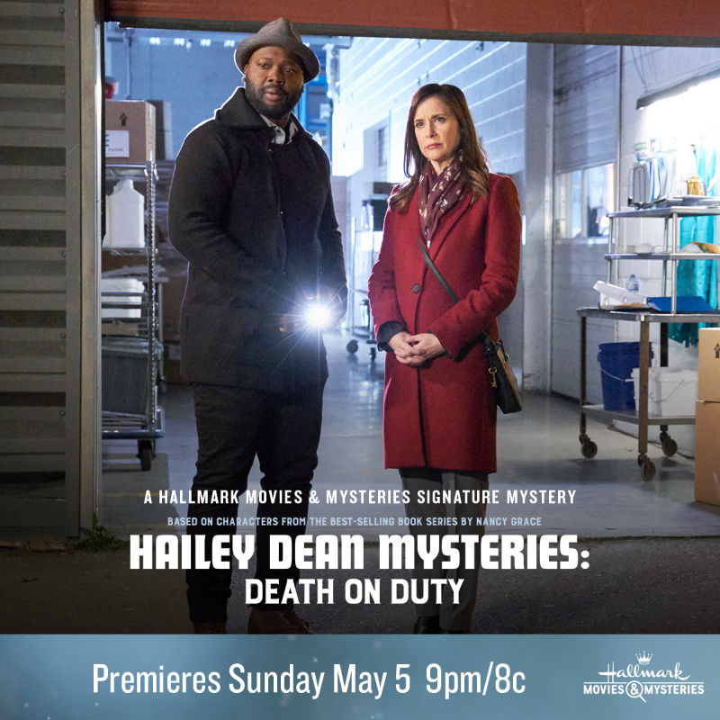 "Hallmark Movies & Mysteries ""Hailey Dean Mysteries: Death on Duty"" Premiering this Sunday, May 5th at 9pm/8c!"