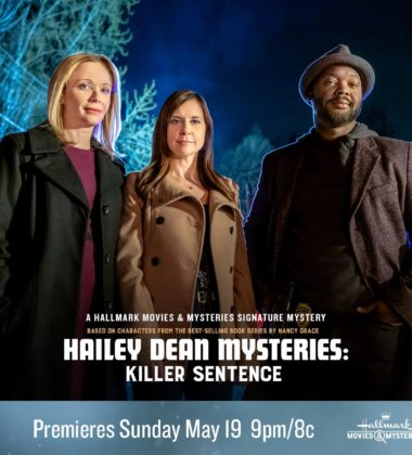 "Hallmark Movies & Mysteries ""Hailey Dean Mysteries: Killer Sentence"" Premiering this Sunday, May 19th at 9pm/8c!"