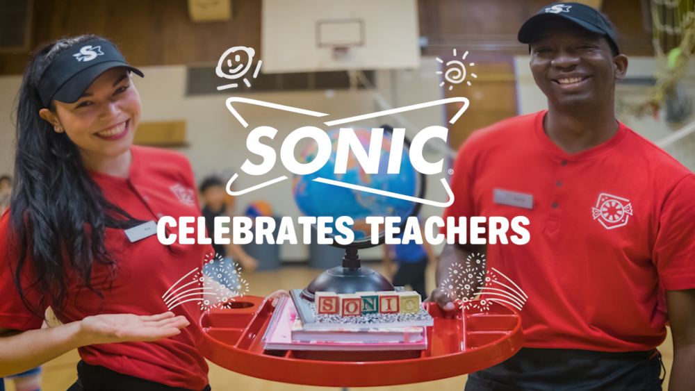 SONIC is celebrating Teacher Appreciation Month
