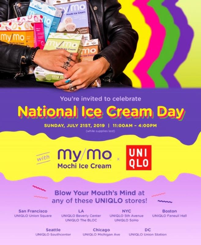 Celebrate National Ice Cream Month My/Mo Mochi