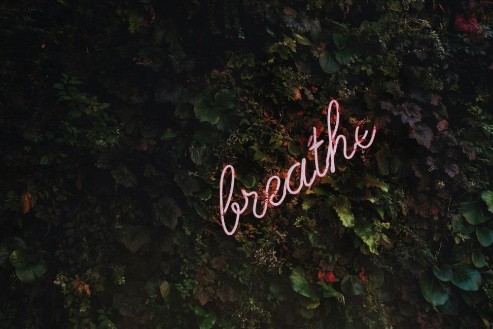 the word breathe