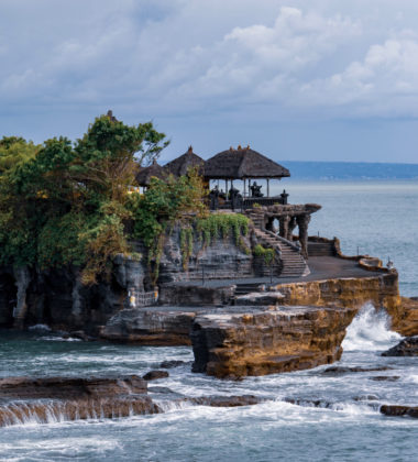 picture of house on island in Bali