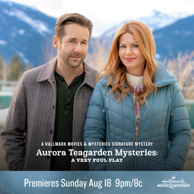 """Hallmark Movies & Mysteries """"Aurora Teagarden Mysteries: A Very Foul Play"""" Premiering this Sunday, August 18th at 9pm/8c!"""