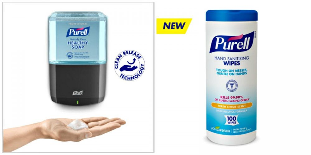 Stay Healthy & Well With PURELL Product Options