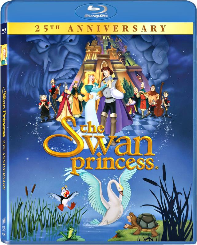 Celebrate The 25th Anniversary Of The Swan Princess