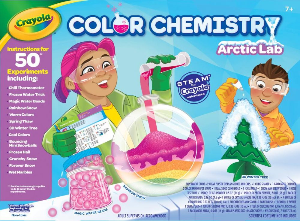 Crayola Brings Joy To The Young Scientists For The World