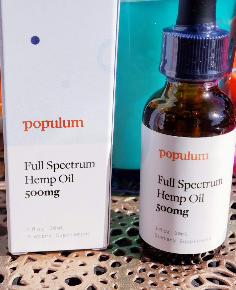 Populum is a collective of premium hemp CBD products designed to be a part of your daily wellness ritual.
