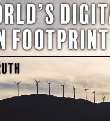 Become Aware Of The World's Digital Carbon Footprint #TheCoalTruth