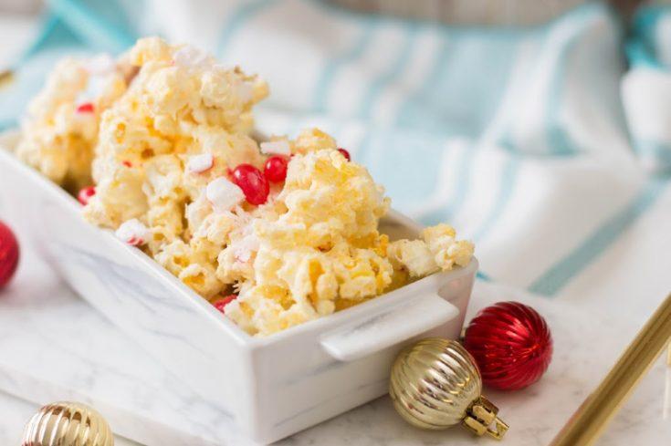 Christmas Peppermint Popcorn