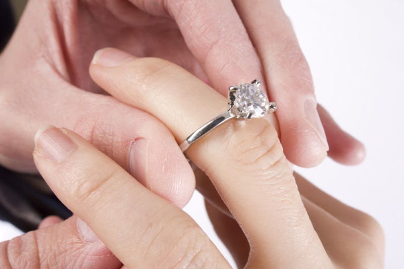 ring on finger