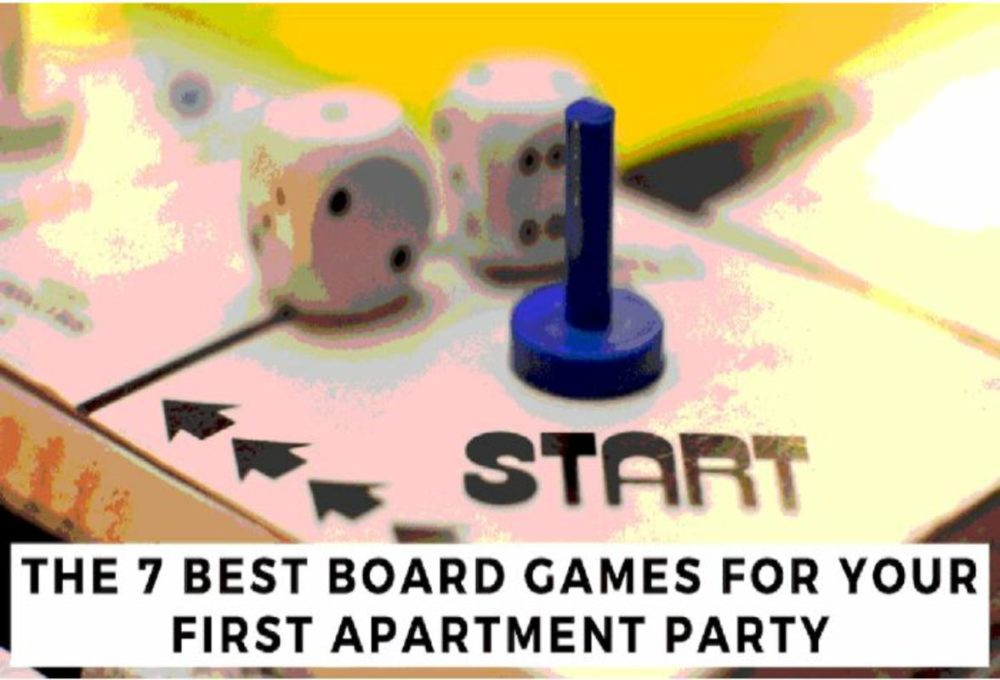 The 7 Best Board Games For Your First Apartment Party