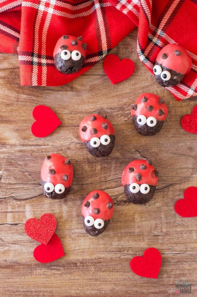Ladybug Oreo Truffles