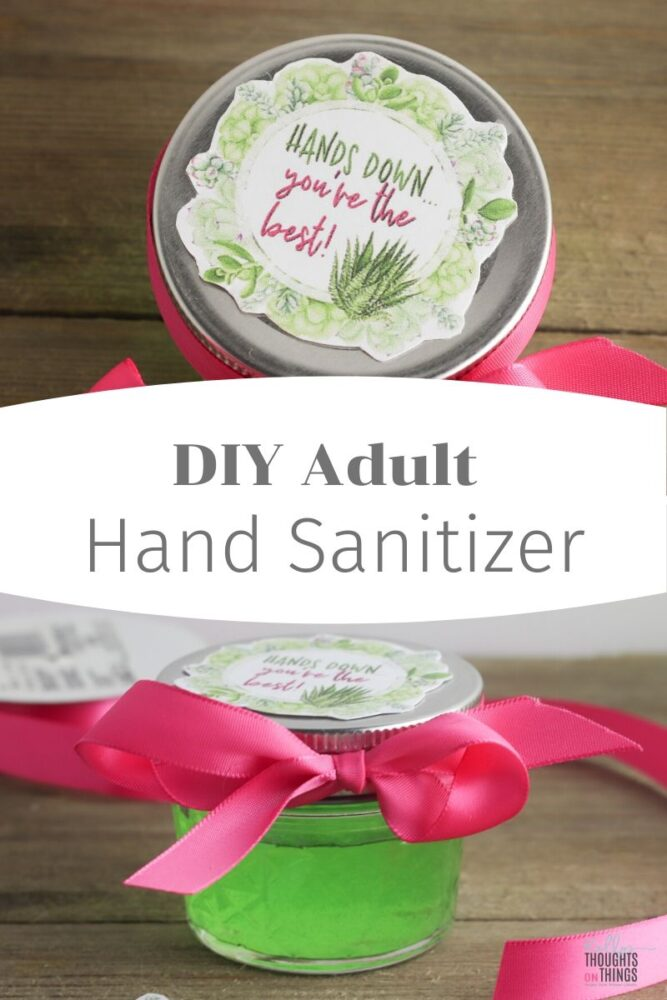 DIY Adult Hand Sanitizer