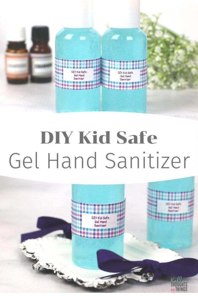 DIY Kid Safe Gel Hand Sanitizer