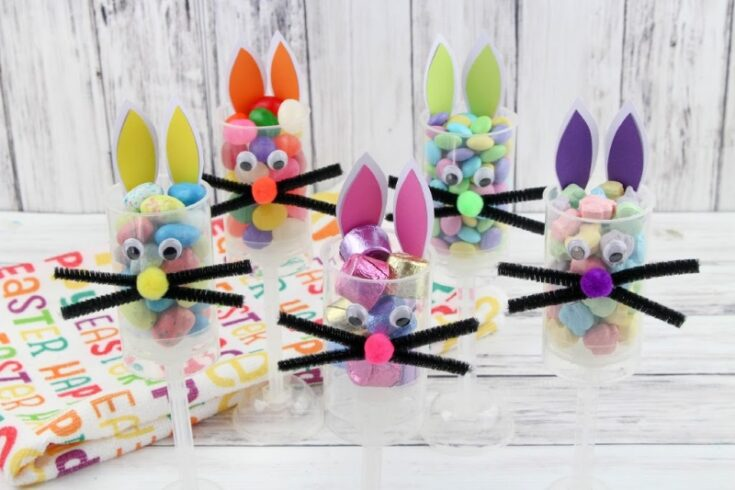 Easter Bunny Candy Push Pops