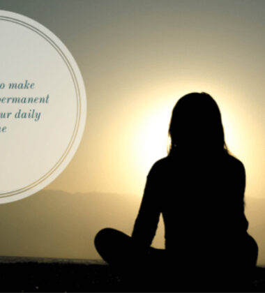 2 Simple Tricks To Make Meditation a Lasting Habit