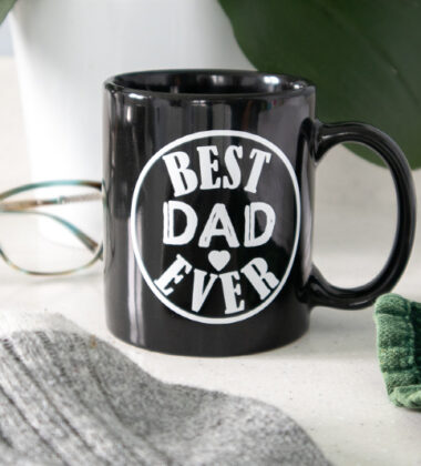 Cricut DIY Father's Day Mug
