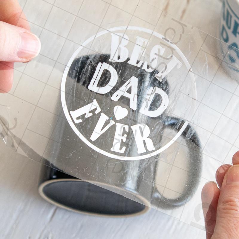 Cricut DIY Father's Day Mug