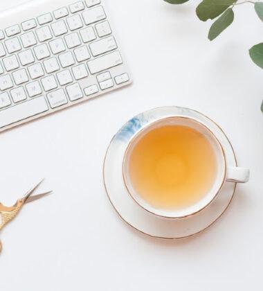 Tea in a tea cup