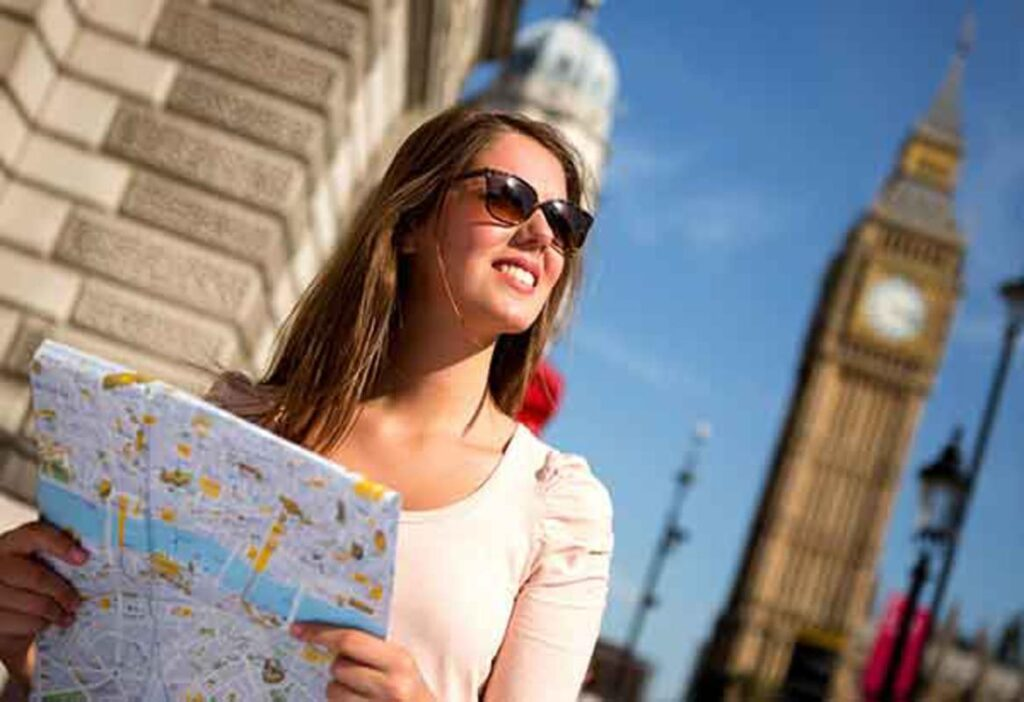 Different Paths For A Lovely Time In London