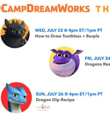 Let The Kids Be A Part Of Camp Dreamworks
