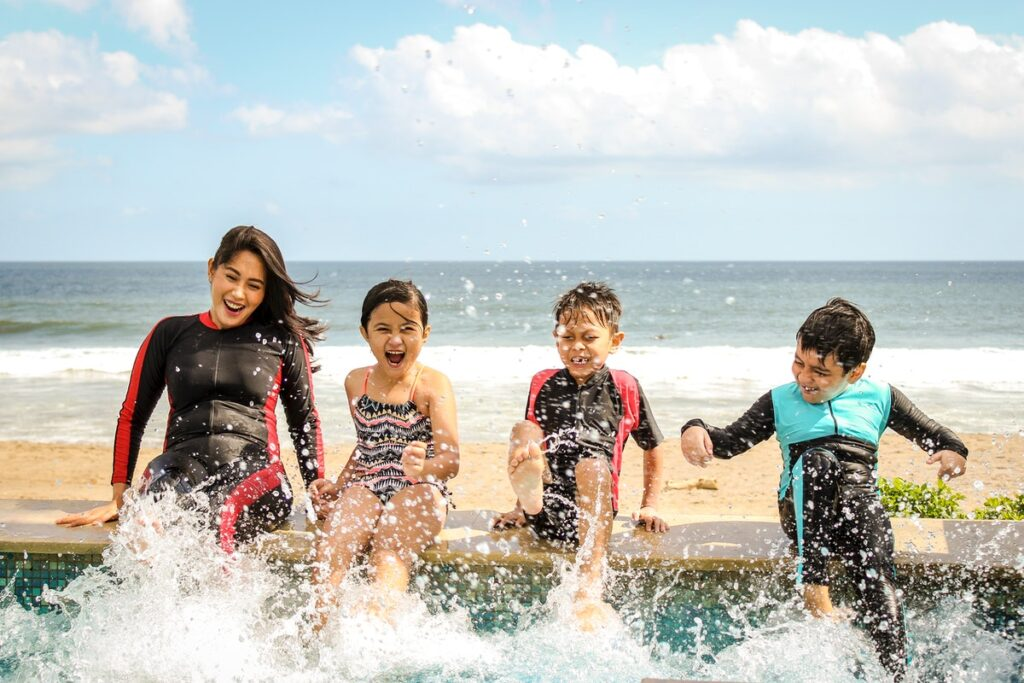 6 Tips For Surviving A Family Vacation With Young Kids