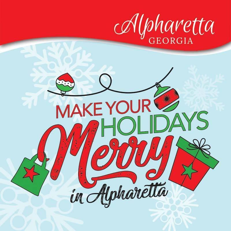 Make Holidays Merry In Alpharetta, Georgia