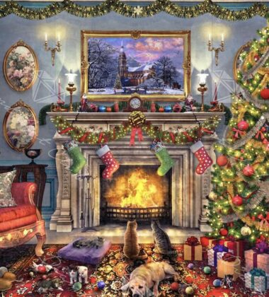 Experience The Holidays At Home With Diamond Art Club