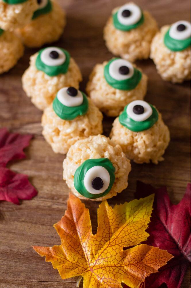 Scary eye dessert